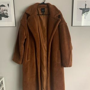 fur trench coat